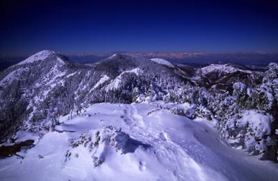 水ノ塔山頂からの景色