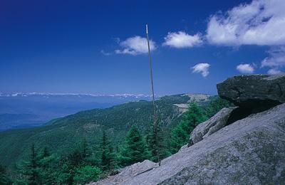 高峯山山頂からの風景