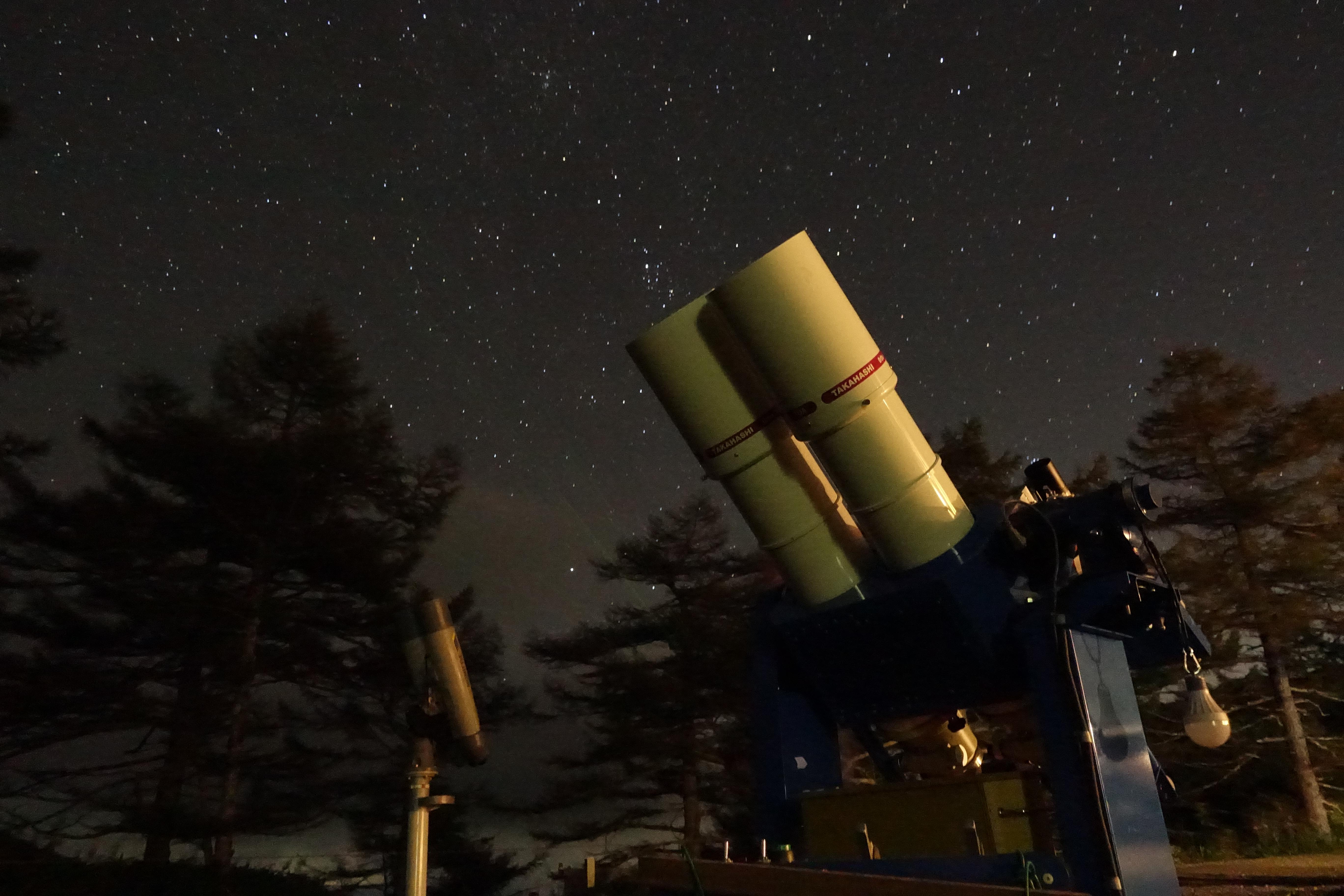 星と望遠鏡 野天風呂月 120