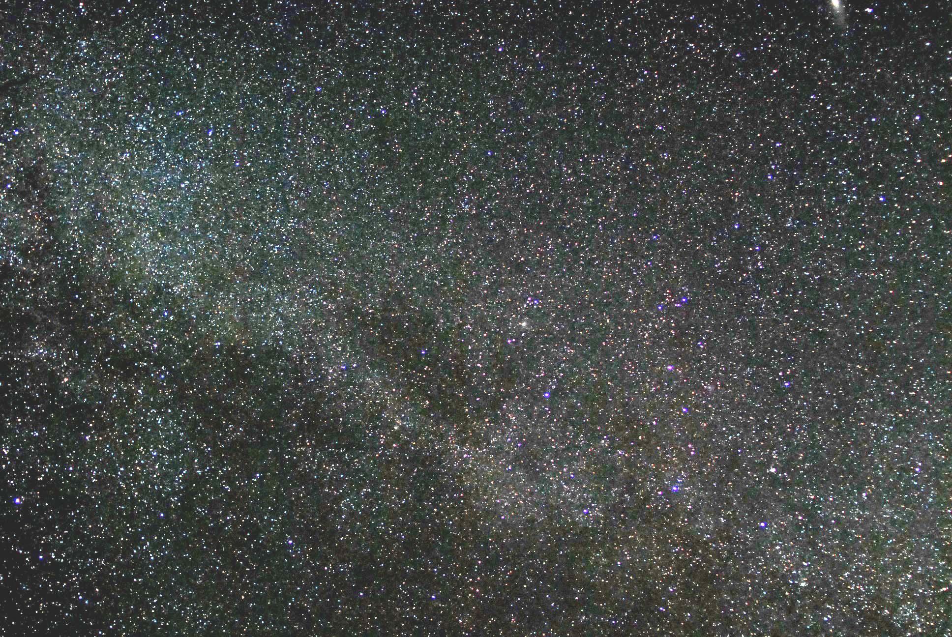9月の星空と夕景 023