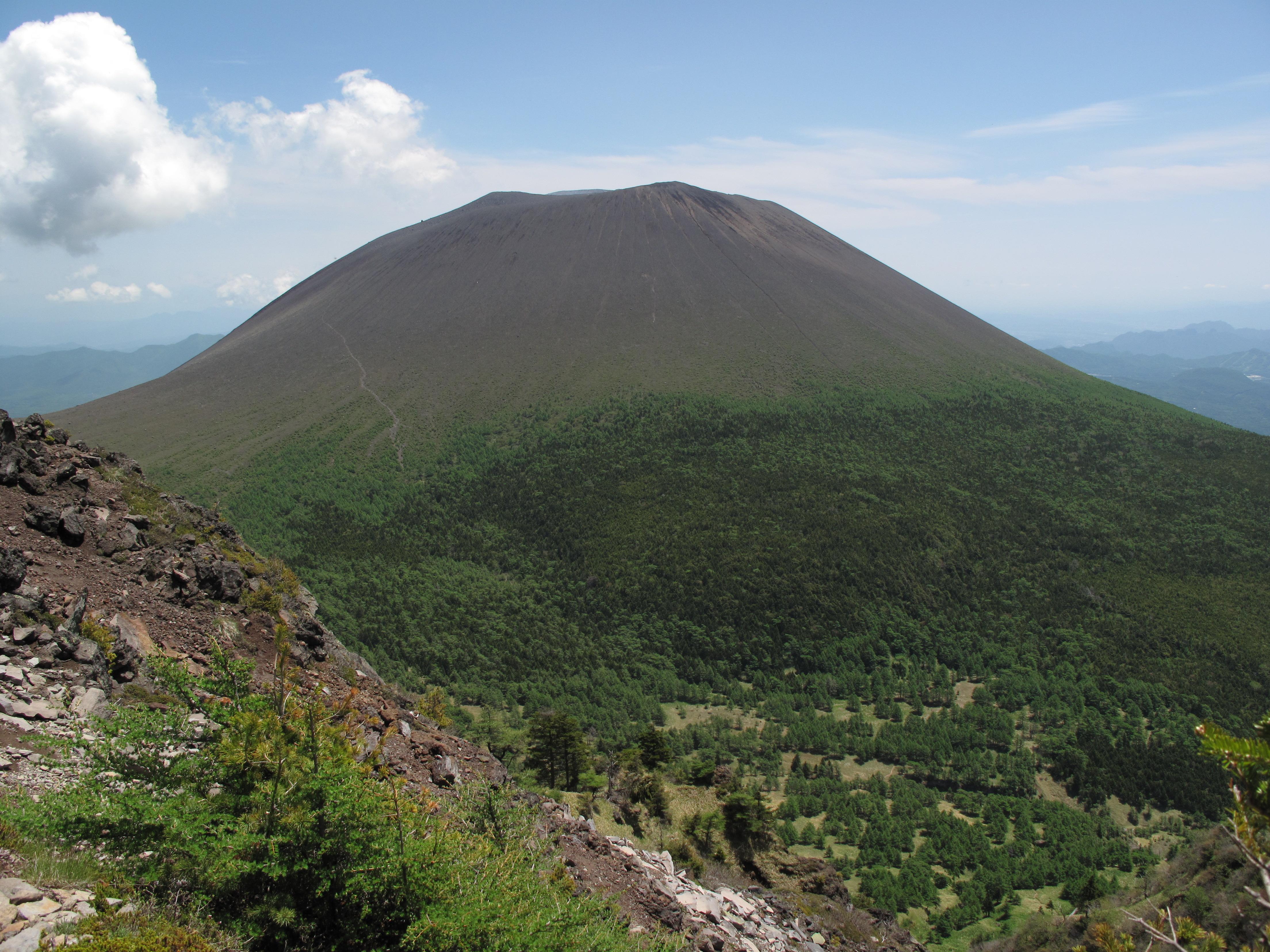 新緑の黒斑山 073